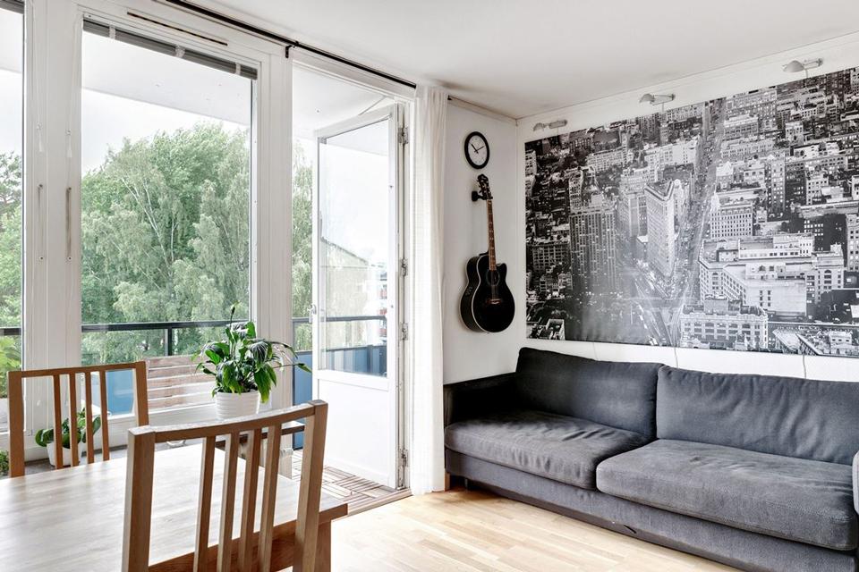 Deco: Petit appartement de 20m2