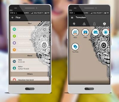 BBM Mod Tema Aksara Versi 3.0.0.18