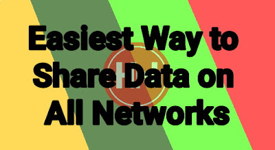 Easiest Way to Share Data on All Networks