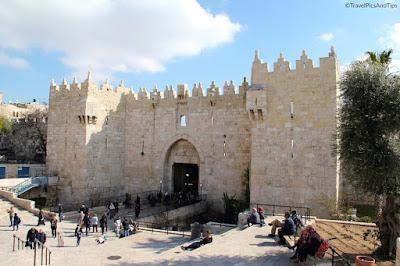 Gare routière pour Bethleem porte de Damas, Jérusalem