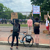 Outrage as Trump builds fence around White House following protests (photos)