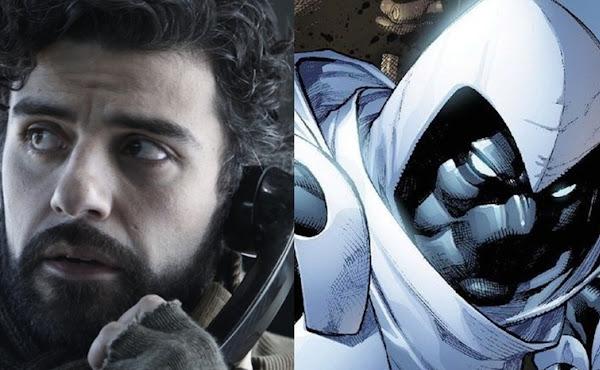 Oscar Isaac em negociações para estrelar a série 'Cavaleiro da Lua' da Marvel
