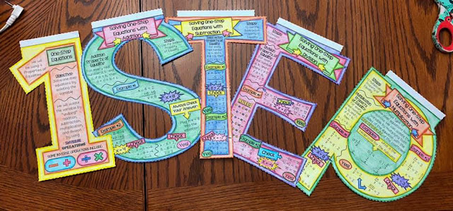 one-step equations banner