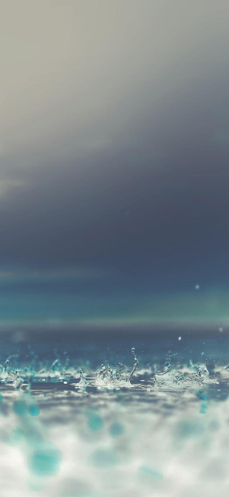 wallpaper iPhone, sfondi per iPhone, acqua, gocce, pioggia