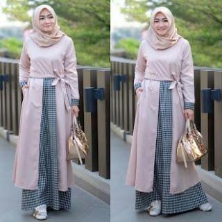 Inspirasi Baju Gamis Muslimah Terbaru