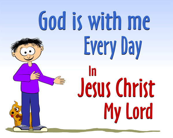 God is With Me Every Day