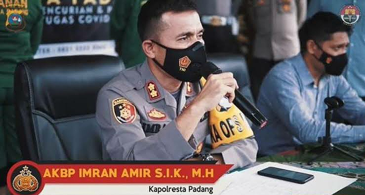 Mengantisipasi Bom Bunuh Diri Seperti Yang Terjadi Di Makasar, Kepolisian Kota Padang Memperketat Penjagaan