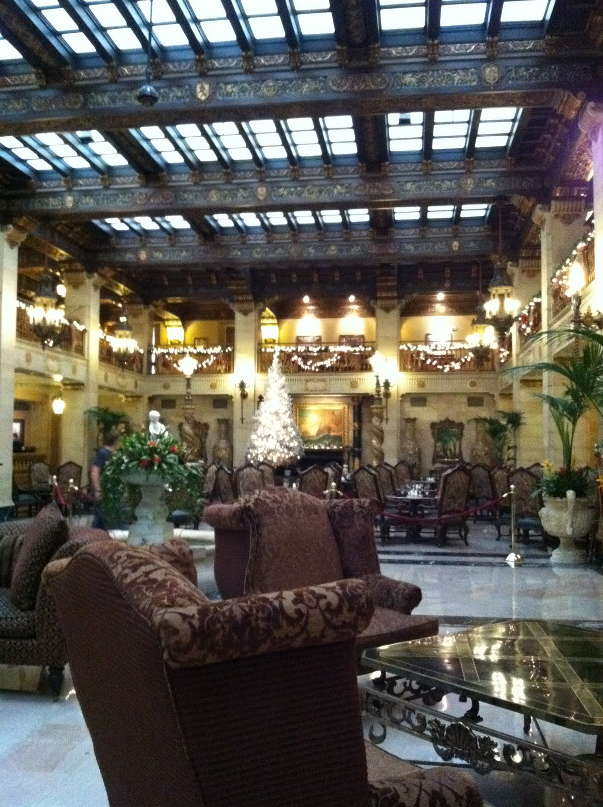 Dinner At The Davenport Hotel There And Back Again