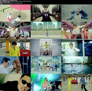 GANGNAM STYLE-720p music video Free Download
