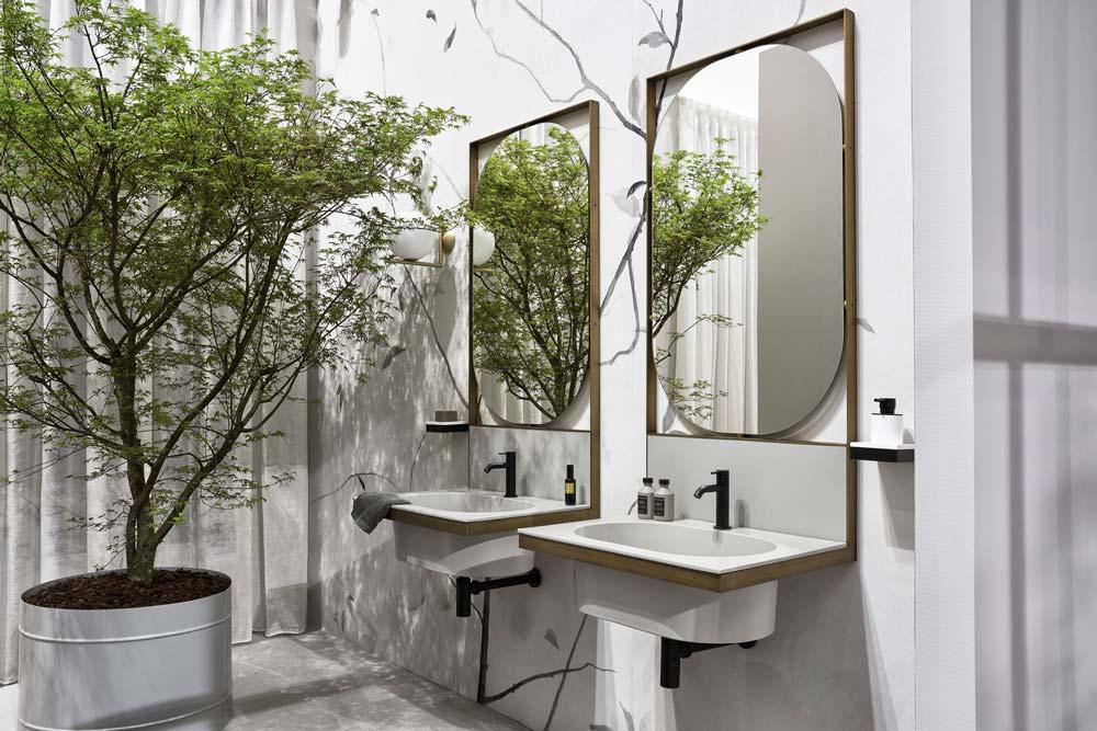 lavabo ovale ultra light Elle - Ceramica Cielo