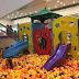 Piscina de Bolinhas do Nino diverte o público no Ilha Plaza