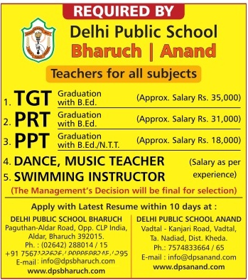 Delhi Public School (DPS) Recruitment
