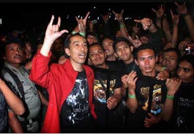 Perjalanan Jokowi Bersama Metallica