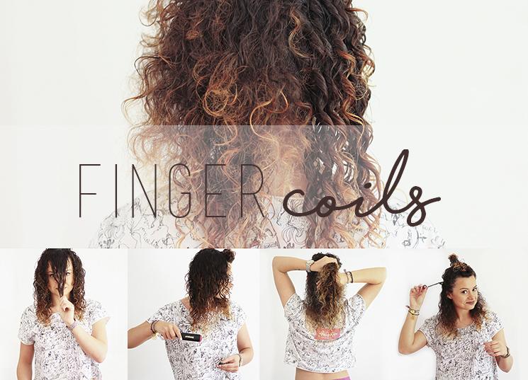 Finger Coils metoda zawijania na palec krok po kroku fotorelacja