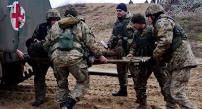 На Донбассе ранены 2 украинских военных