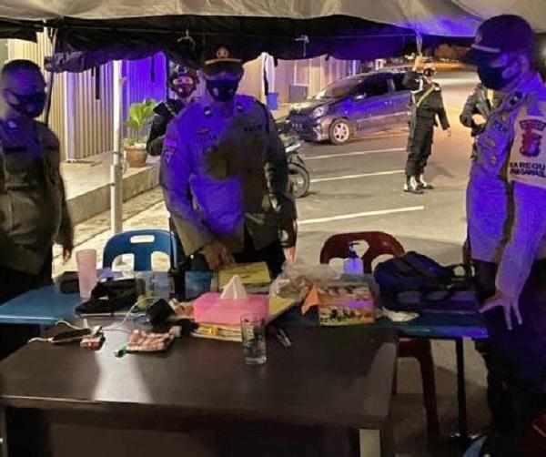 Polresta Berelang Tingkatkan Pengamanan di Kantor Bawaslu Batam