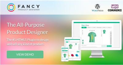 Download Fancy Product Designer v3.4.7 Woocommerce Plugin free