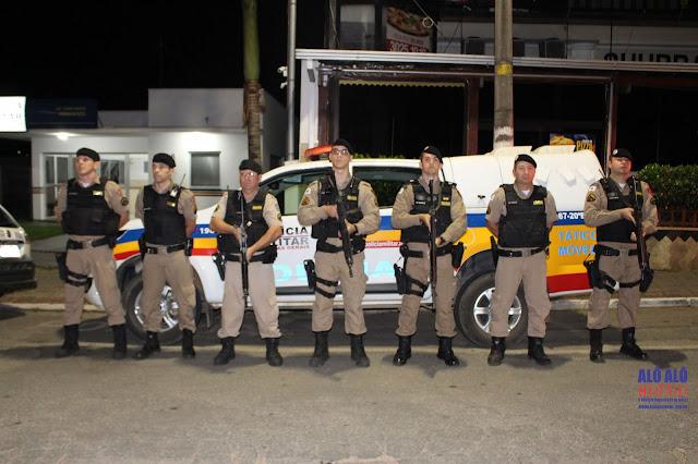 Equipe do Tático Móvel e Militares de Espírito Santo do Dourado realizaram a apreensão e prisão - Foto: Alô Alô Cidade
