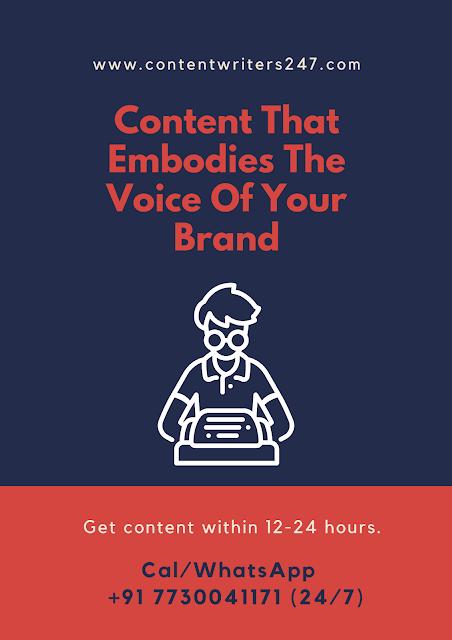 Content Writing Service Delhi