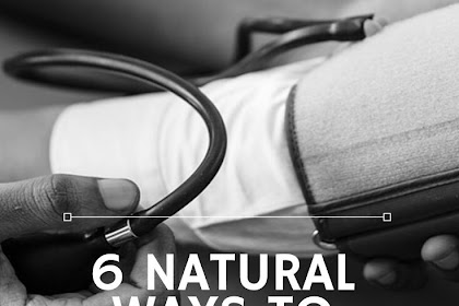 6 Natural Ways To Reduce Hypertension