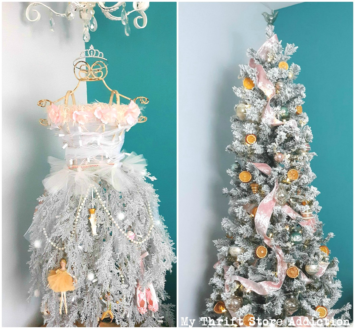 vintage Christmas tree inspiration