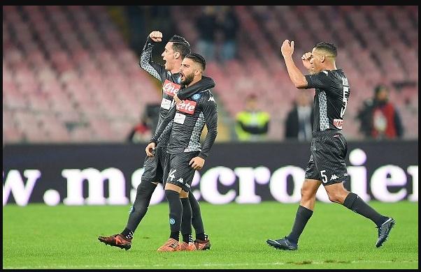 Napoli-Milan risultato 2-1: segnano Insigne Zielinski e Romagnoli