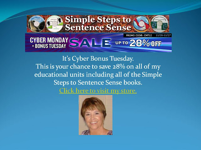 Simple Steps to Sentence Sense Sale photo