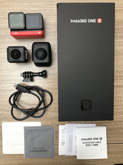 Insta360 ONE R Unboxing 開箱