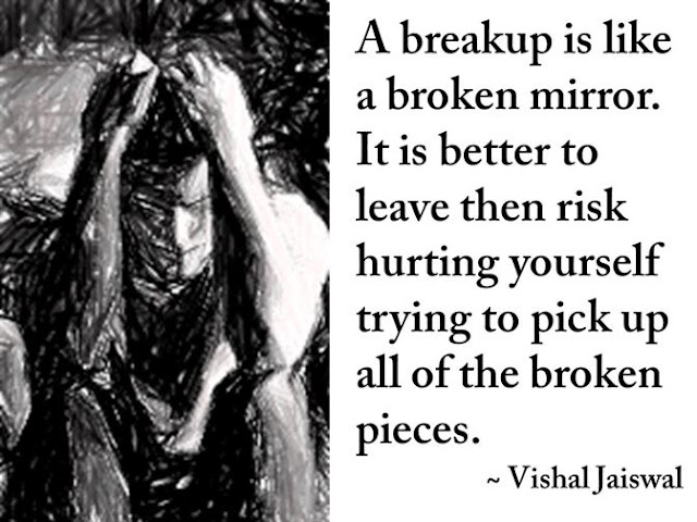heart breaking sad breakup quotes