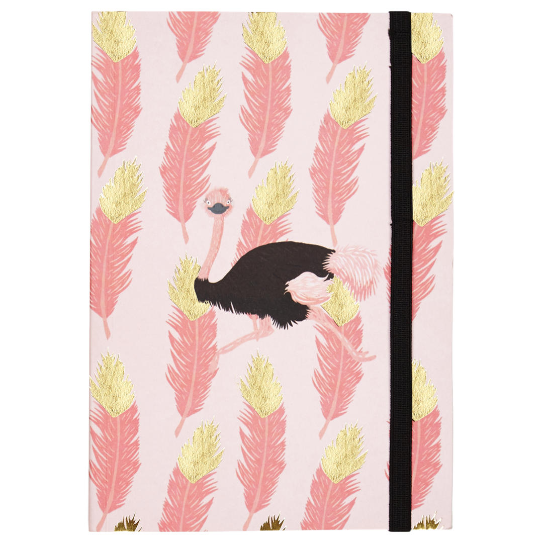 Fenella Smith Ostrich Notebook