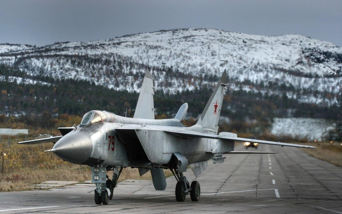 Naval Open Source INTelligence: Russia Sends Mig-31 ...