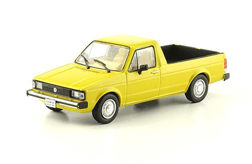 volkswagen Caddy 1981 1:43, volkswagen collection, colección volkswagen méxico