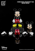 Mickey Mouse Hybrid Metal Figuration