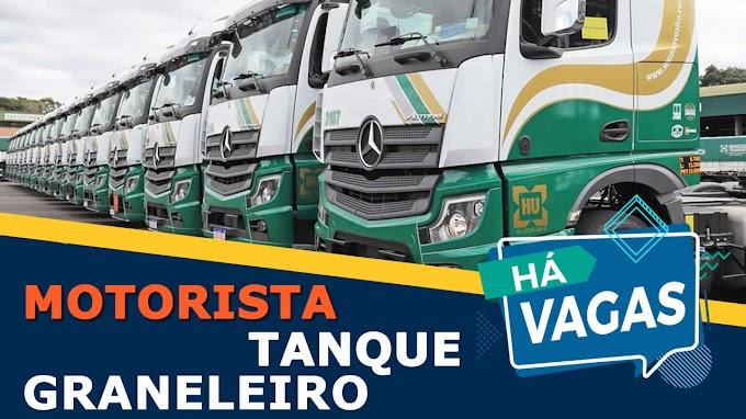 Hungaro Transportes abre vagas para Motorista graneleiro e Tanque