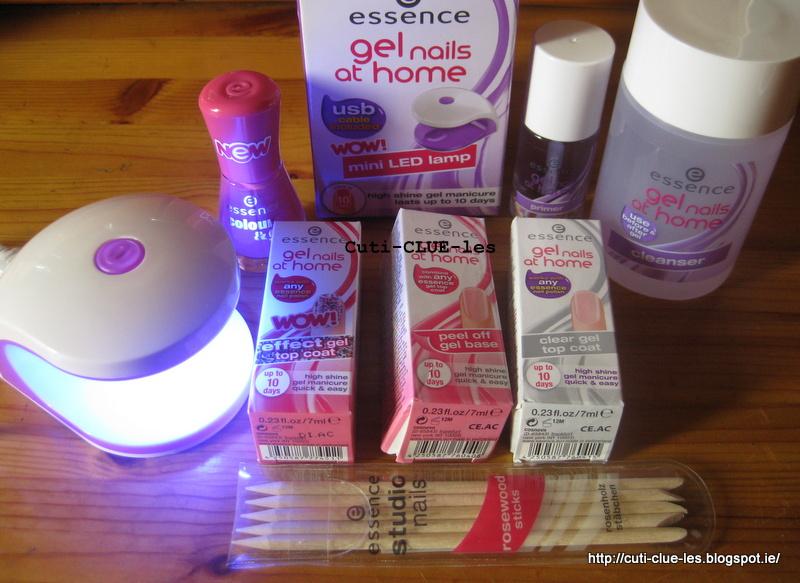 Essence Gel Nail Polish Kit Hession Hairdressing