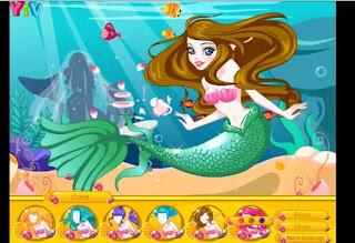 إلعب لعبة حورية البحر وصيفة الشرف أون لاين