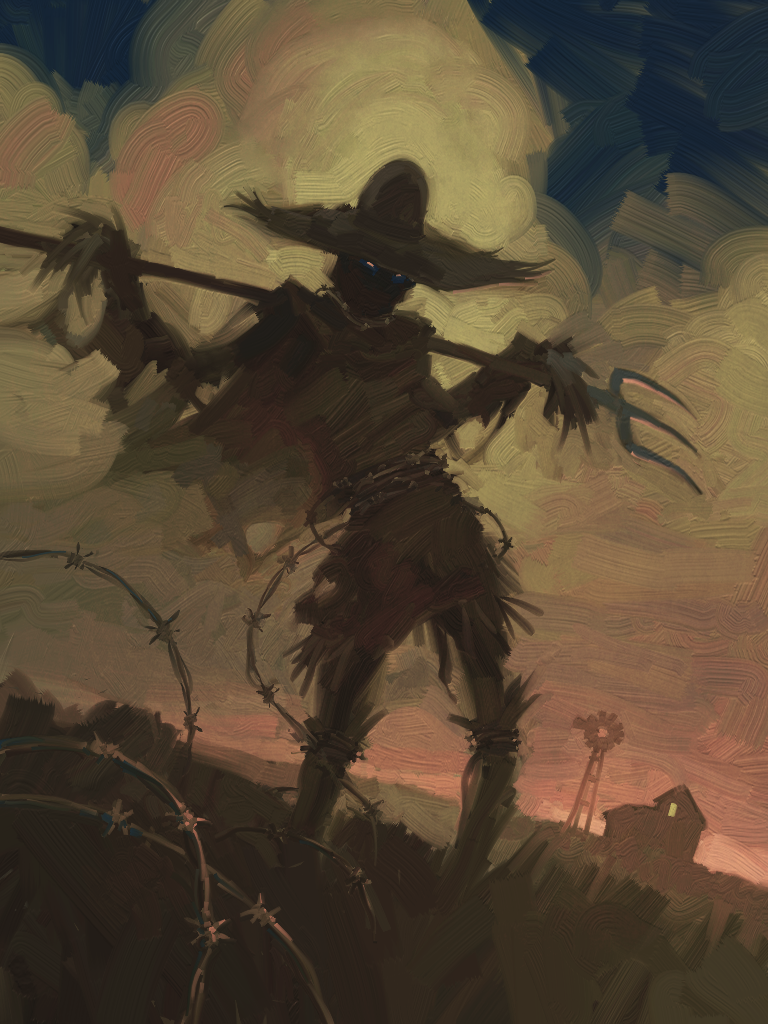 CROSS PLANES: 31 Nights of Halloween: Scarecrow for FAE