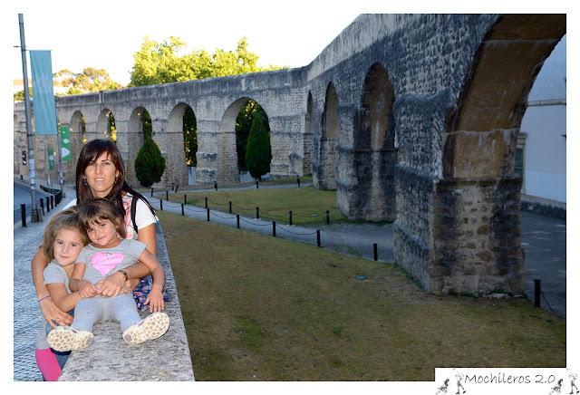 Arcos del Acueducto de San Sebastian, Coimbra