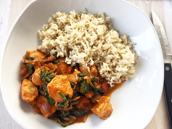 RECIPE: SLIMMING WORLD SYN FREE CHICKEN SAAG