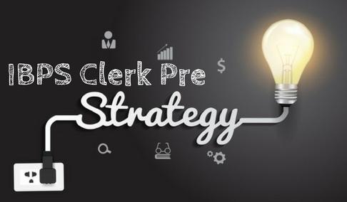 ibps clerk strategy