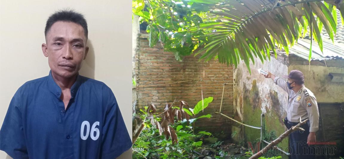 Pelaku Cukit Rumah Pedagang itu Ternyata Mesman Asal Desa Penanggal