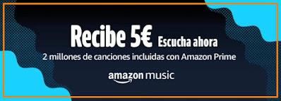 5€ gratis por escuchar una canción