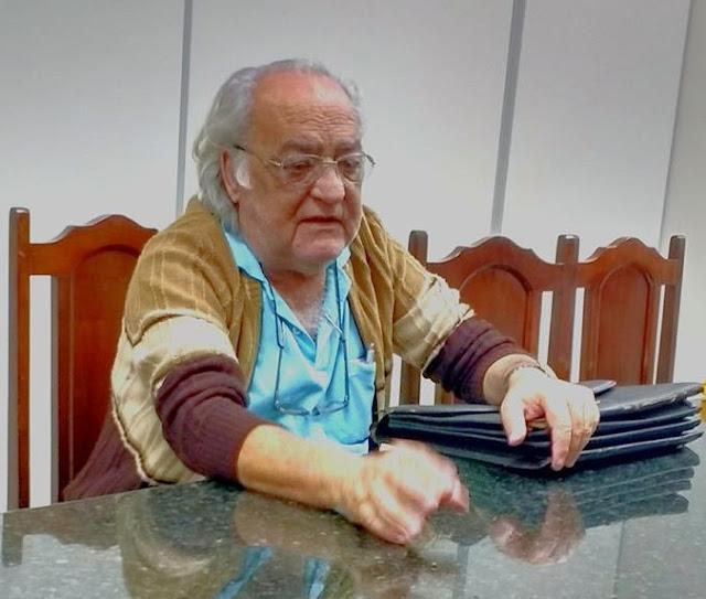 NOTA FALECIMENTO ROBERTO SAUD FABRES em 29/01/2018 - Vice-Presidente da APPP - Associação de Participação Popular na Política