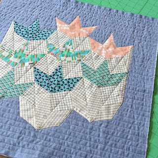quilting and applique panel