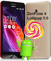 Zenfone 4 android lollipop 5.0