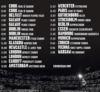 Tour Ed Sheeran