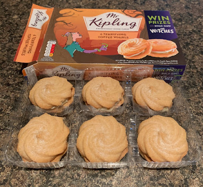 Mr Kipling - Terrifying Toffee Whirls