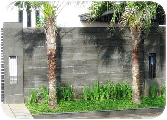 Desain Model Pagar Tembok Rumah