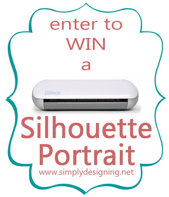 Silhouette GIVEAWAY + May Promotion (sale on Silhouette and Chipboard) @SimplyDesigning with code: DESIGNING.  #silhouette #spon #giveaway