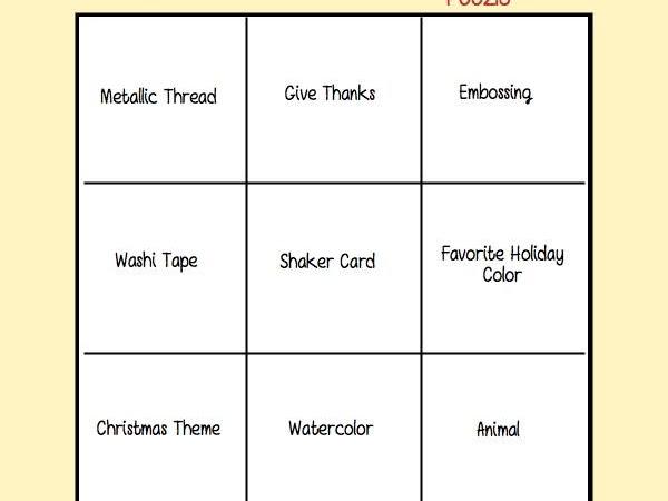Paper Craft Crew Challenge #218